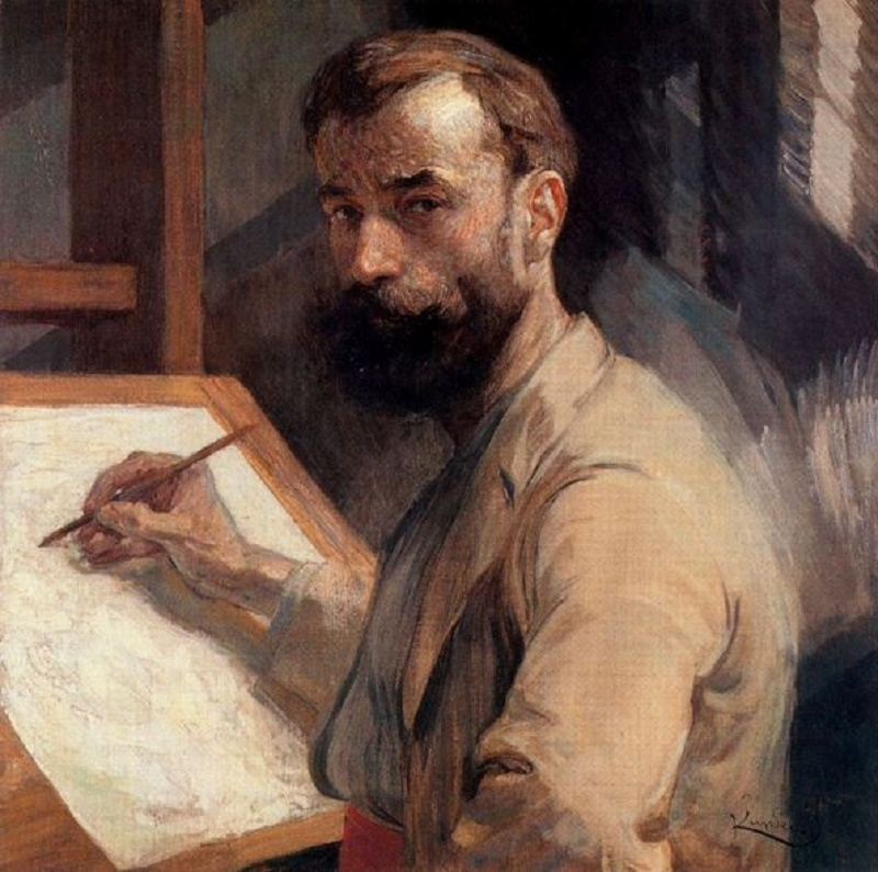 c. 1905, Self-Portrait.