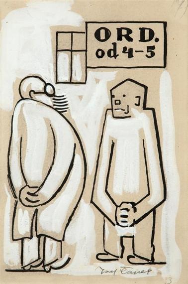 Josef Capek Czech Artist