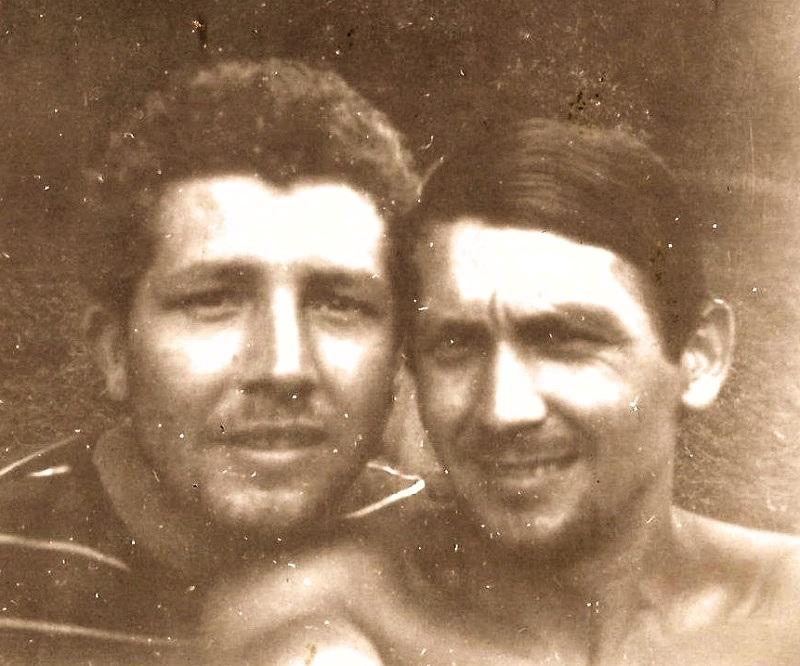 Rabstejn-nad-Strelou-Vlasta-Hilmar-Milan-Hilmar-selfie-1966