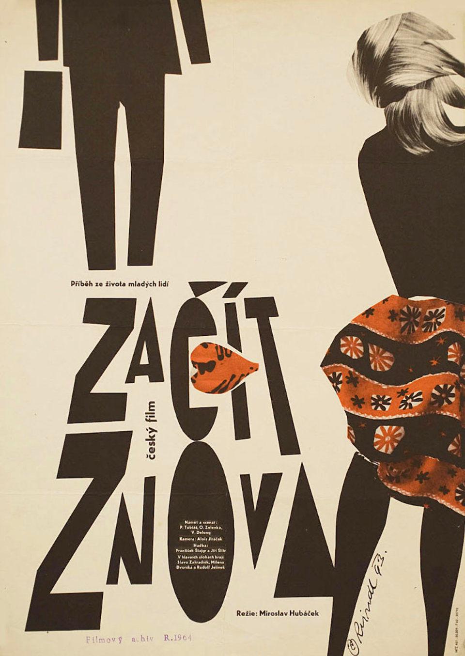 a-fresh-start-1964-original-czech-movie-poster