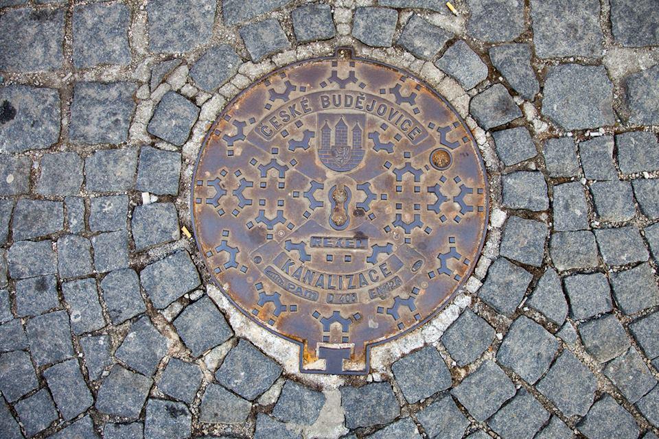 Ceske-Budejovice-Manhole-Cover