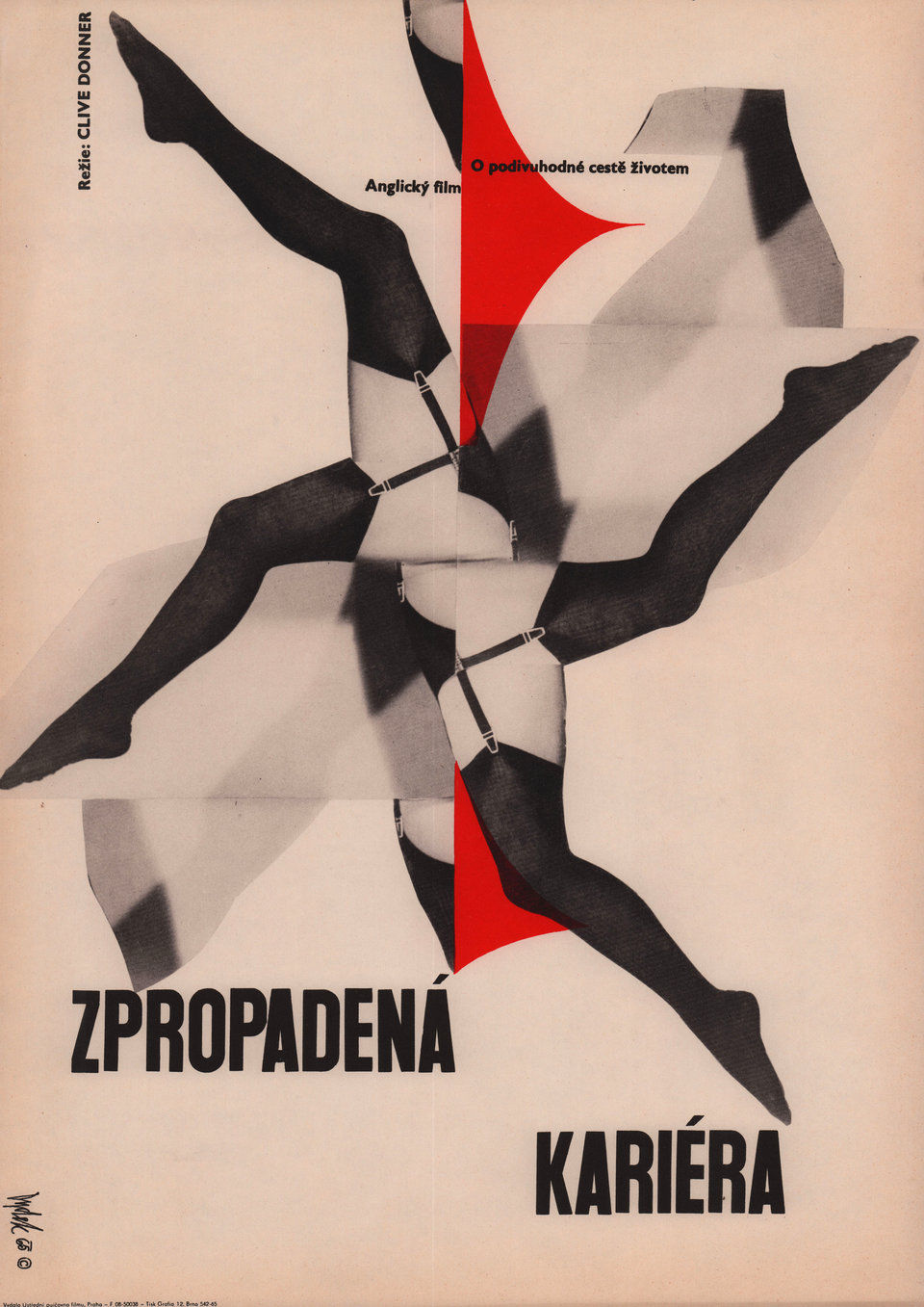 nothing-but-the-best-1965-original-czech-movie-poster