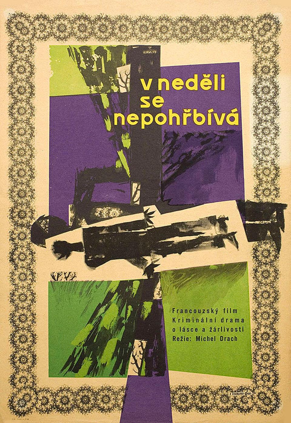 one-does-not-bury-sunday-1960s-original-czech-republic-movie-poster