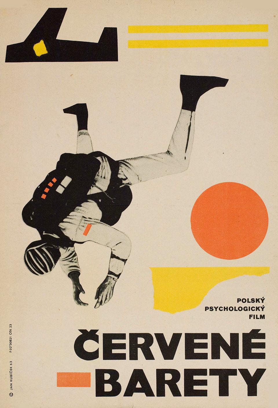 red-berets-1963-original-czech-movie-poster