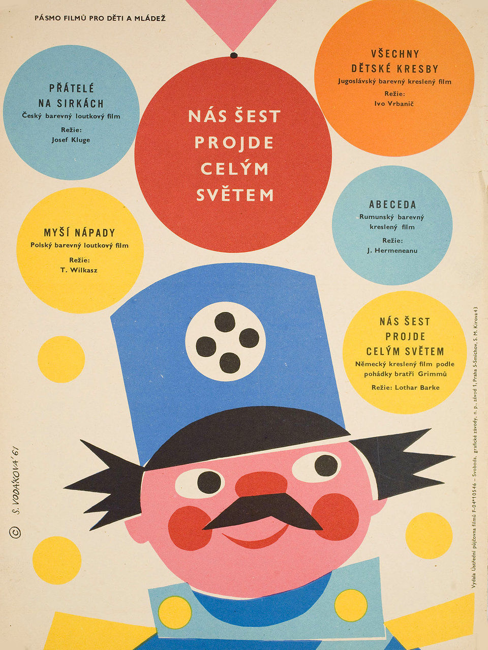 Vintage Czech Movie Posters From The 1960s