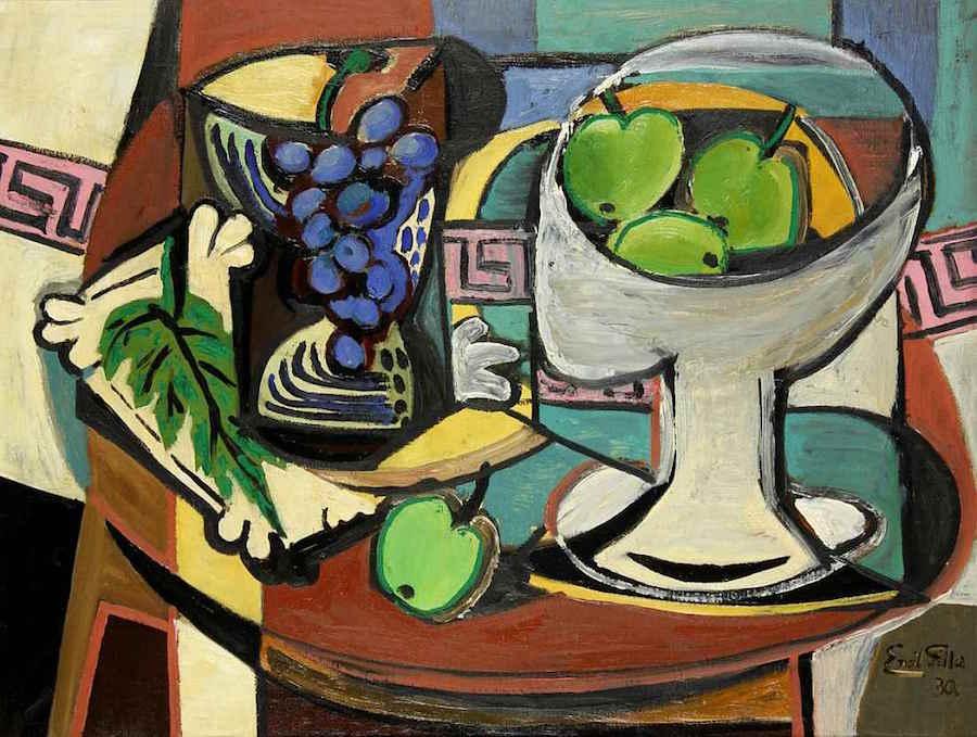 Emil-Filla-Cubism-Tres-Bohemes