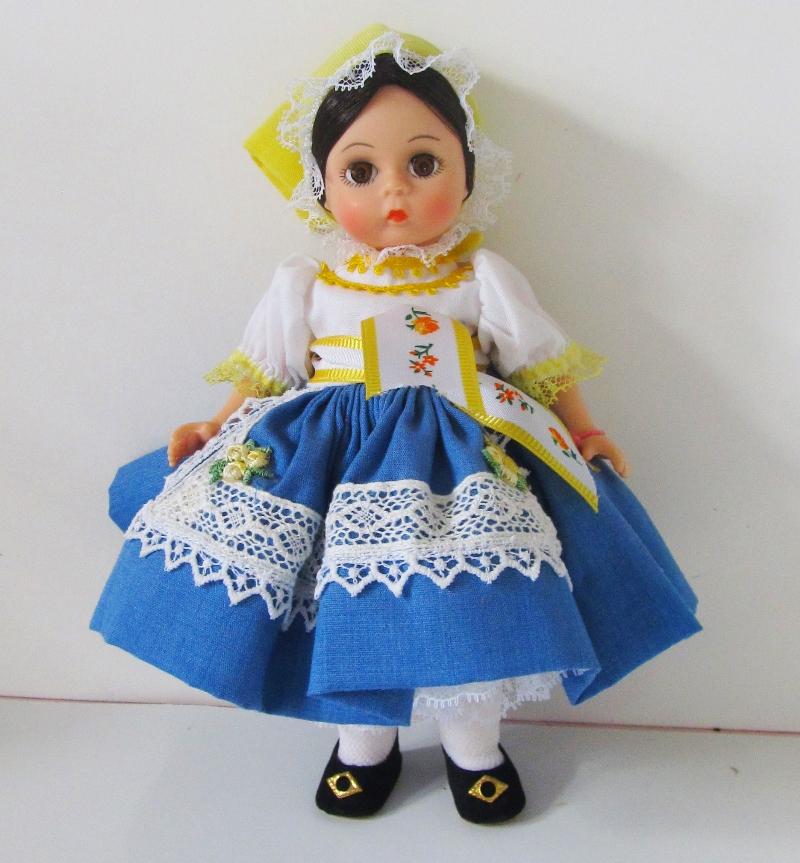 1989 Madame Alexander 'Bohemia' doll.