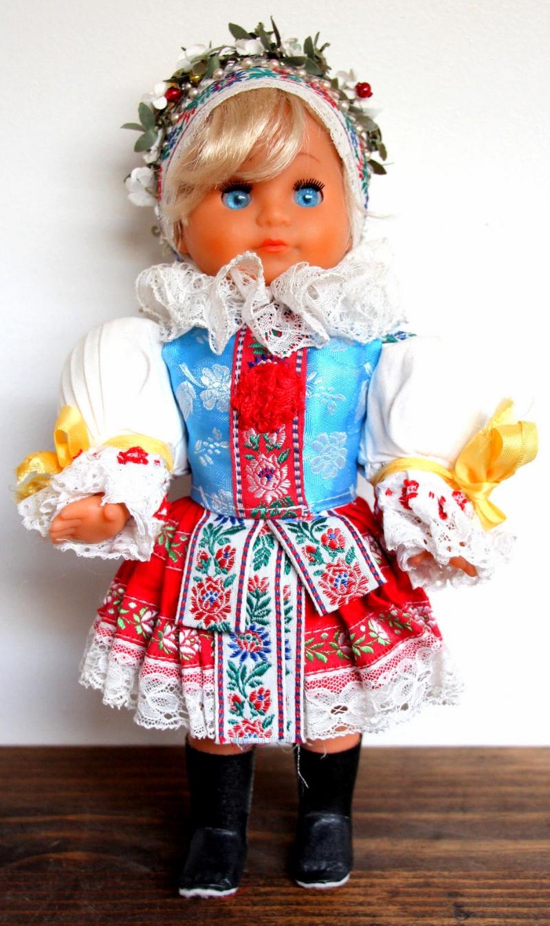 Czech folk doll from the early 1990s