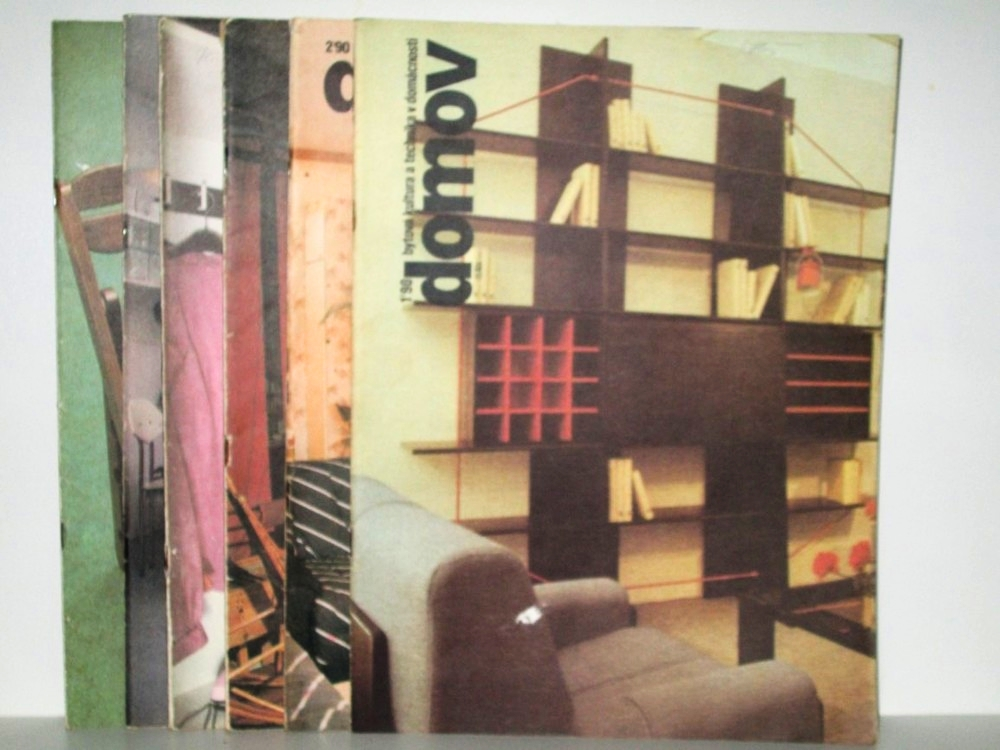 Domov Czech Magazine Collection