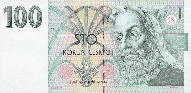 100-czech-koruna-banknote-tres-bohemes