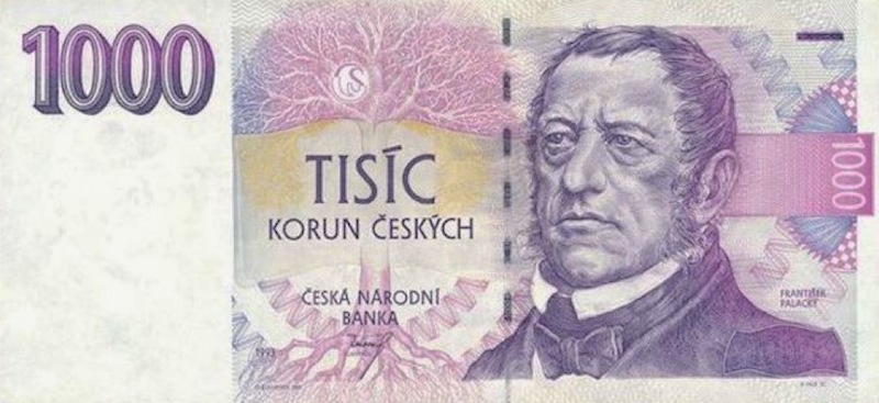 1000-czech-koruna-banknote-tres-bohemes