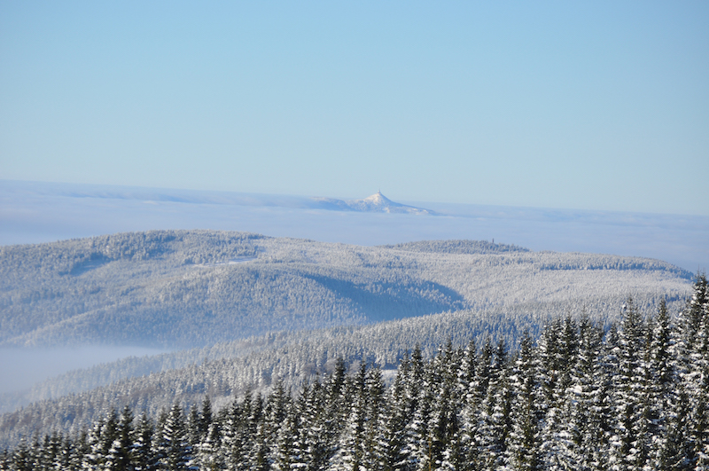 The-Ještěd-Tower-From-Dvoraček-(Krkonoše)-Tres-Bohemes