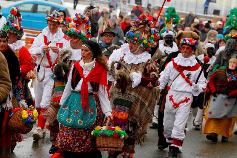 Shrovetide Procession Parade