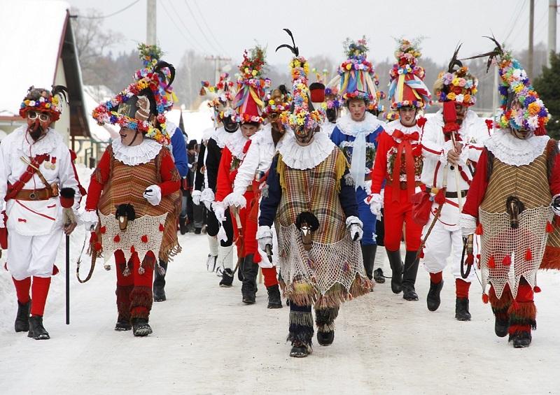 Shrovetide Procession Merriment