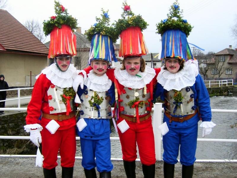 Shrovetide Procession Gentlemen