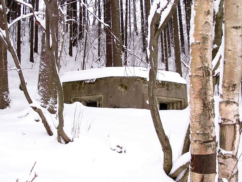 The Wintery Wonderland and Bunkers at Hodkovice u Trutnova