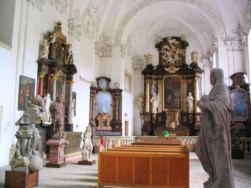 Chapel of St. Ann at Wallenstein Mnichovo Hradiště Château
