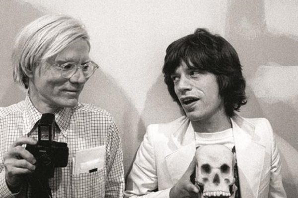 Andy Warhol Entertains the Rolling Stones at Montauk