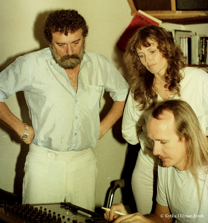 Waldemar Matuška at His First U.S. Recording Session by Kytka Hilmar-Jezek