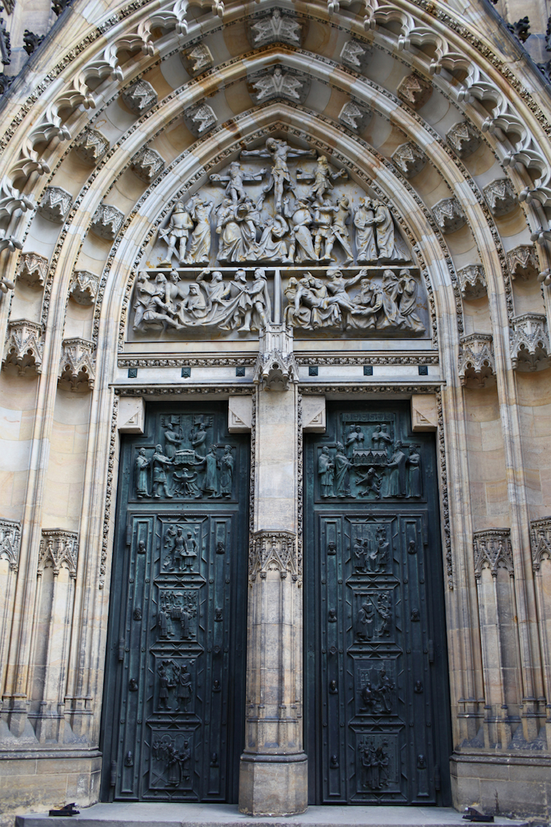 St-Vitus-Cathedral-Doors-Tres-Bohemes