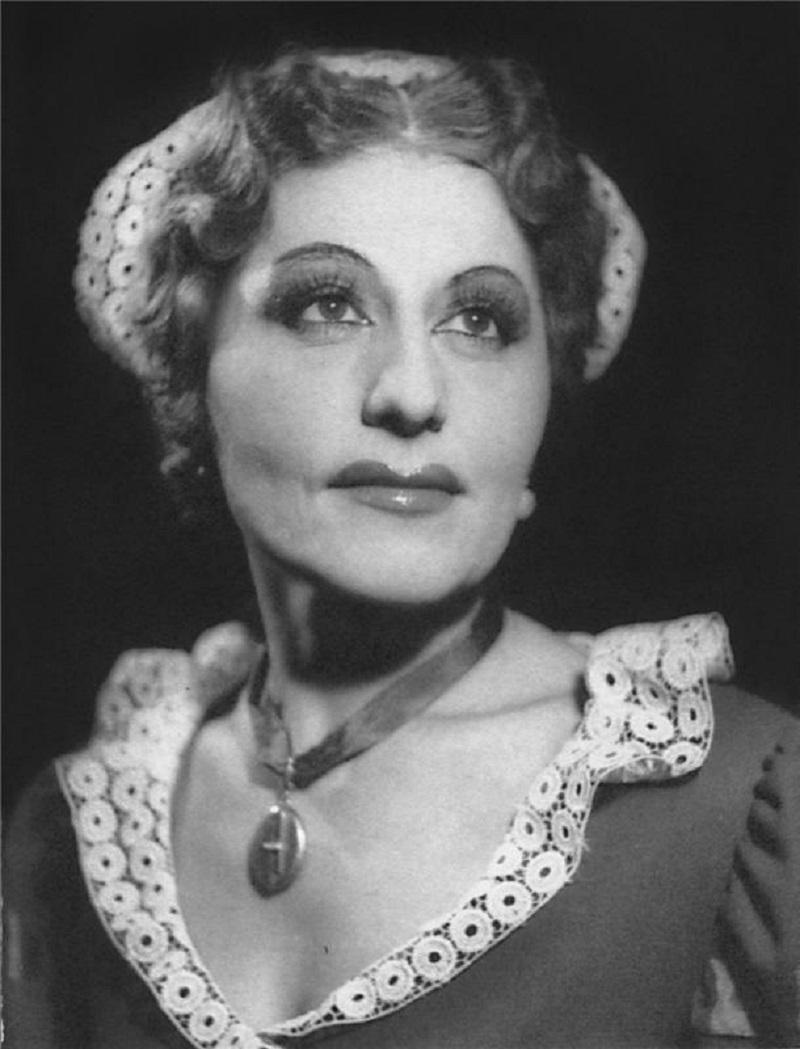 Czech Opera Singer Štěpánka Štěpánová