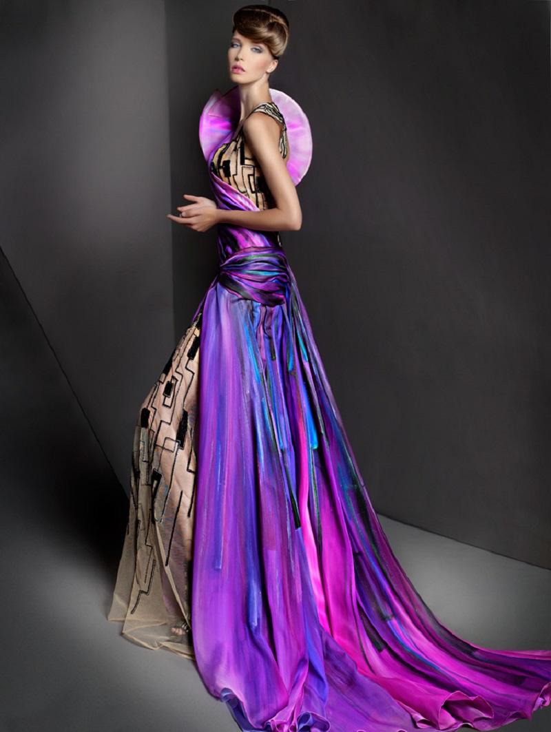 The Ethereal Dress Designs of Blanka Matragi