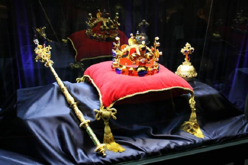 Czech Coronation Jewels of the King and Emperor Charles IV