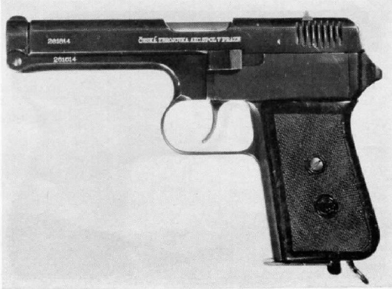 Czech-Handguns-CZ-Model-1938-cal-380-pistol