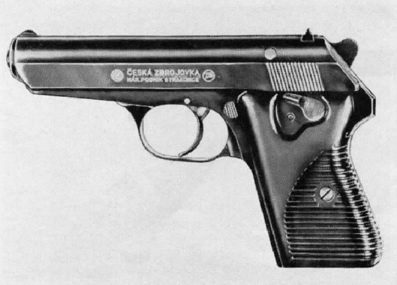 Czech-Handguns-CZ-Model-1950-cal-32-pistol