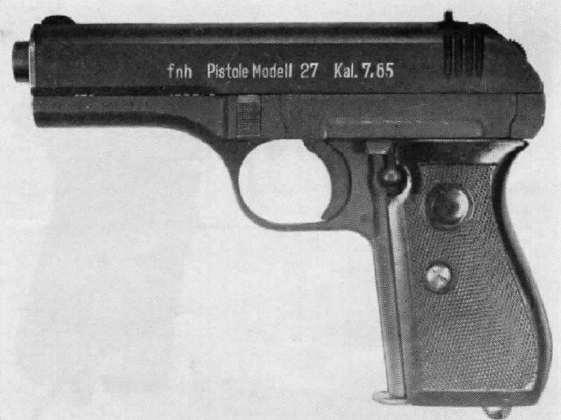 Czech-Handguns-CZ-Model-27-cal-32-pistol