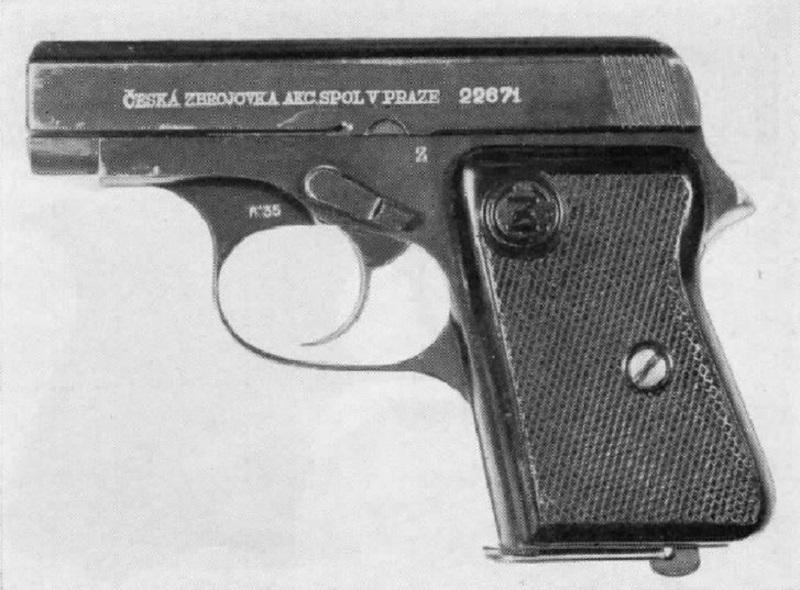 Czech-Handguns-CZ-Model-36-cal-25-pistol