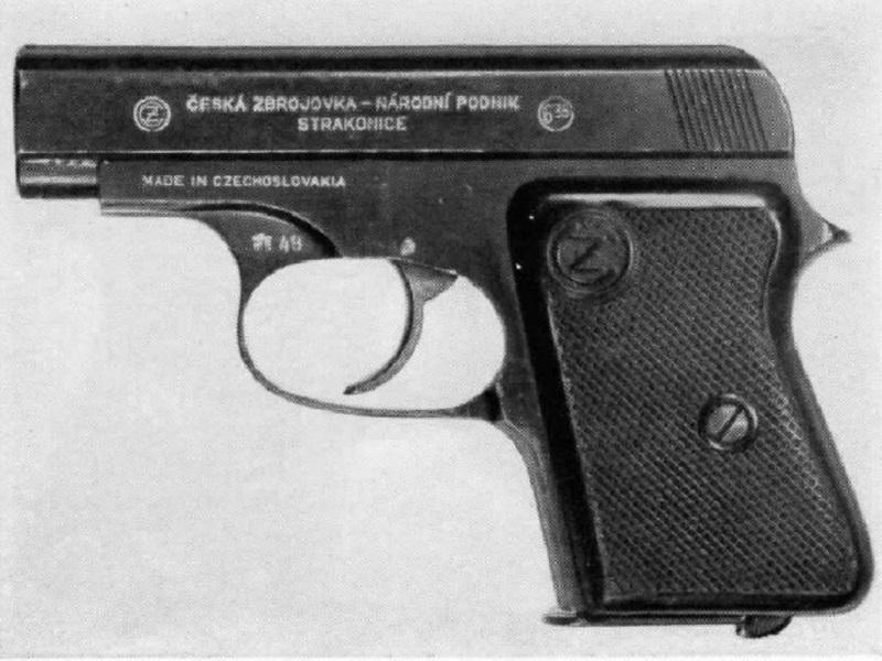 Czech-Handguns-CZ-Model-45-cal-25-pistol