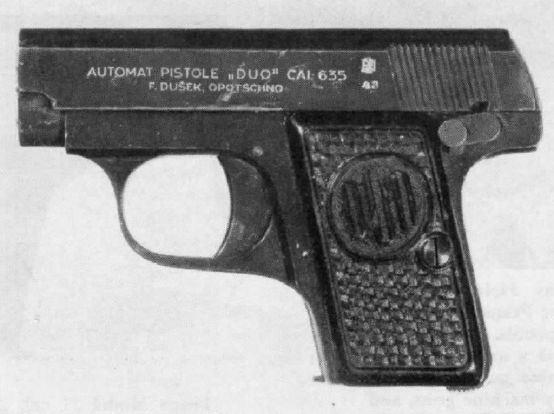 Czechoslovakian Handguns From 1918 to 1964 - An Overview