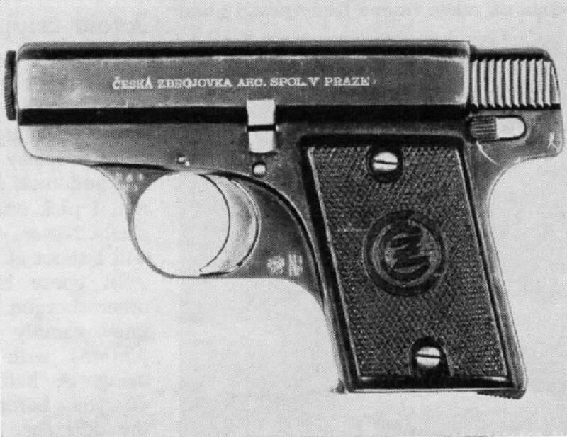 Czech-Handguns-Model-1922-cal-25-pistol