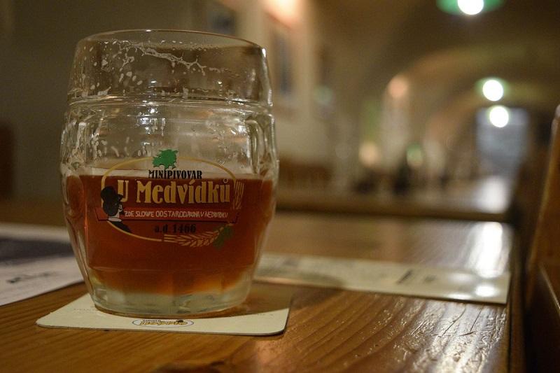 The Strongest Beer In the World at U Medvídků in Prague