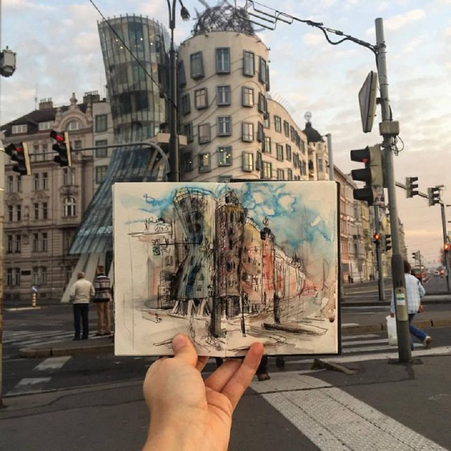 Little Sketches of Prague Photographed on Location by Ieva Ozola