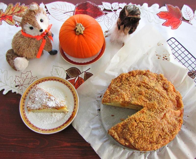 Harvest Peach Crumb Cake