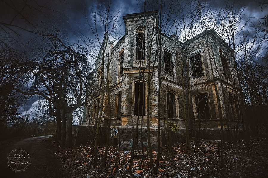 Abandoned Pfaffenhof Mansion Near The Richard Factory Complex Litomerice