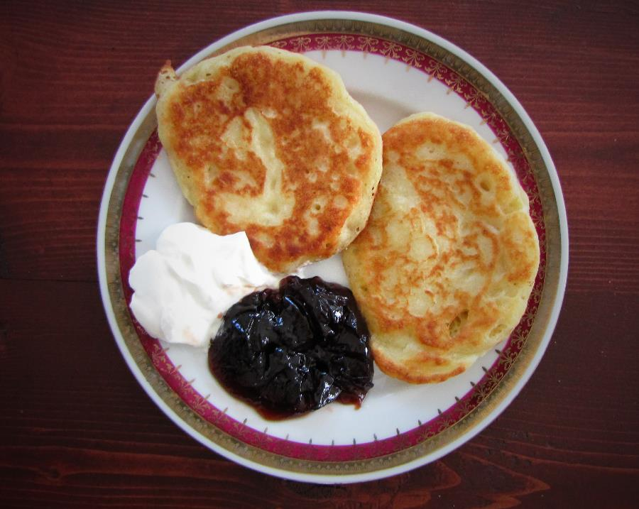 Staročeské lívance aka Old Bohemian Pancakes Fit for a King