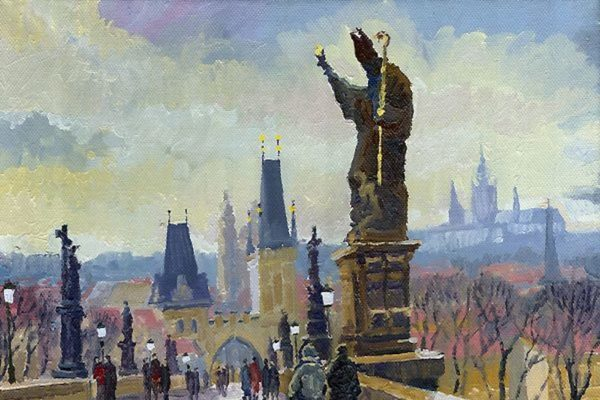 Oil-Paintings-of-Prague-by-Yuriy-Shevchuk-Tres-Bohemes-10