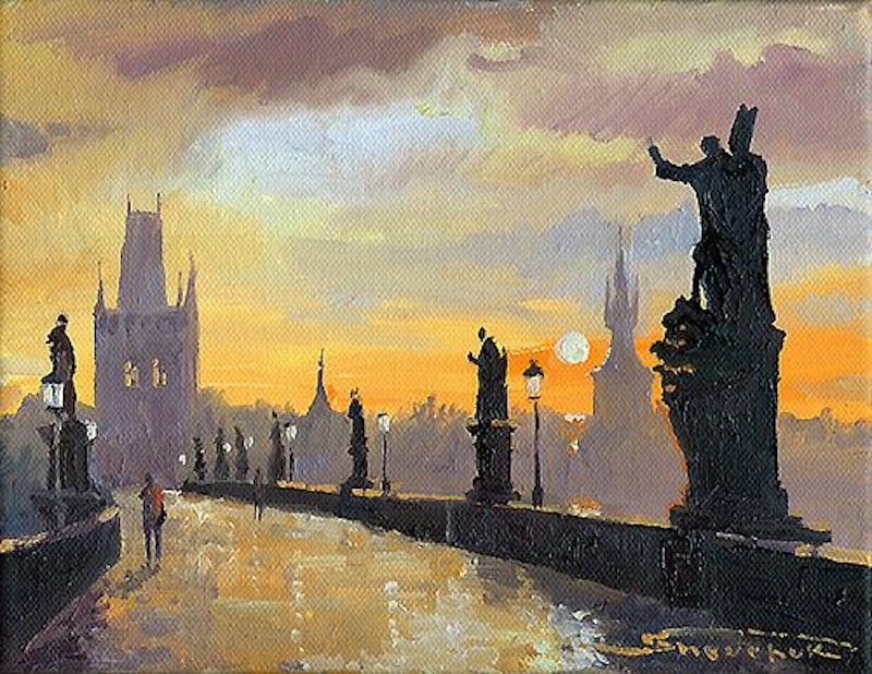 Oil-Paintings-of-Prague-by-Yuriy-Shevchuk-Tres-Bohemes-11