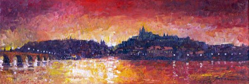 Oil-Paintings-of-Prague-by-Yuriy-Shevchuk-Tres-Bohemes-14