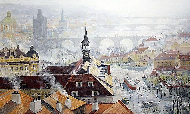 Oil-Paintings-of-Prague-by-Yuriy-Shevchuk-Tres-Bohemes-15