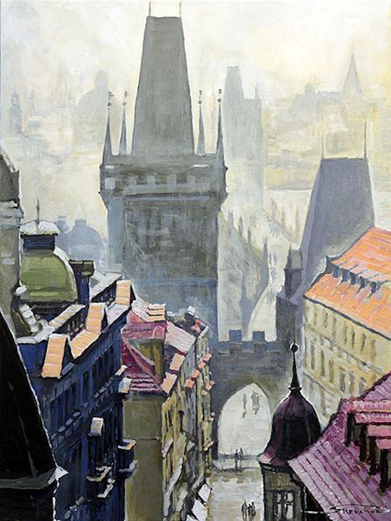 Oil-Paintings-of-Prague-by-Yuriy-Shevchuk-Tres-Bohemes-18