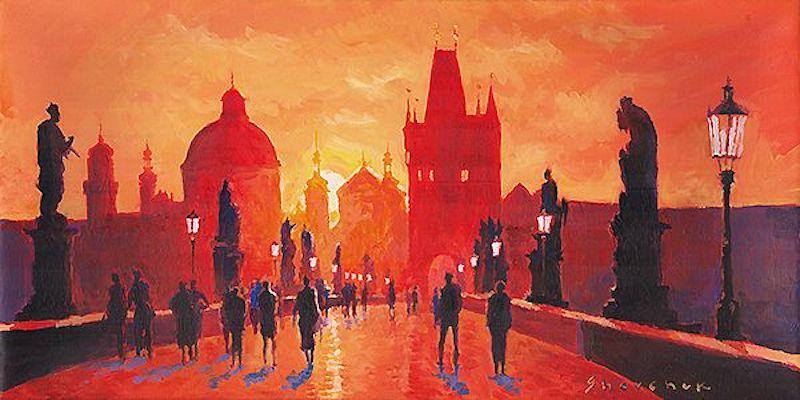 Oil-Paintings-of-Prague-by-Yuriy-Shevchuk-Tres-Bohemes-19