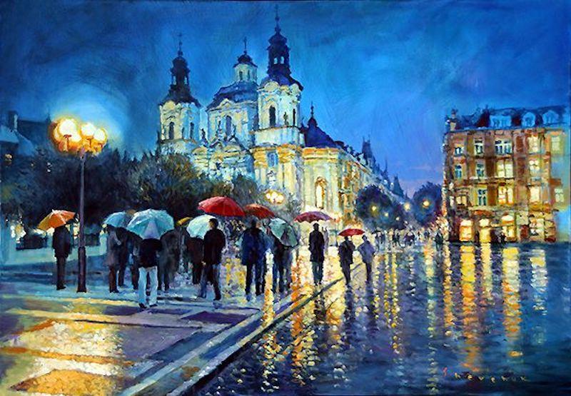 Oil-Paintings-of-Prague-by-Yuriy-Shevchuk-Tres-Bohemes-20