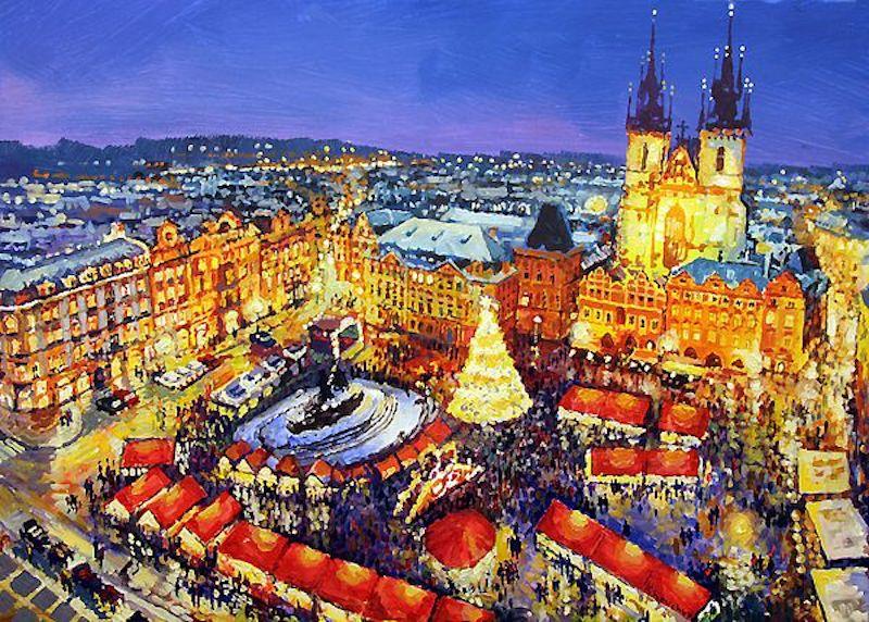 Oil-Paintings-of-Prague-by-Yuriy-Shevchuk-Tres-Bohemes-22