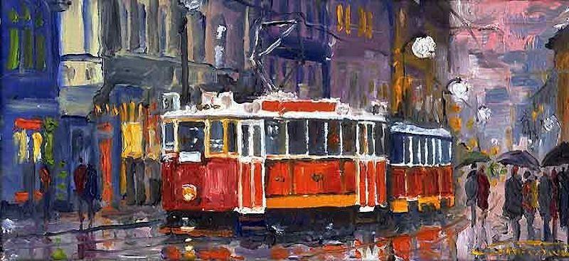 Oil-Paintings-of-Prague-by-Yuriy-Shevchuk-Tres-Bohemes-4