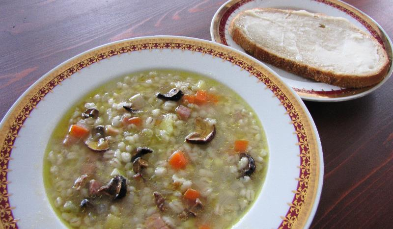 Honza Ax Soup Czech Fairytale