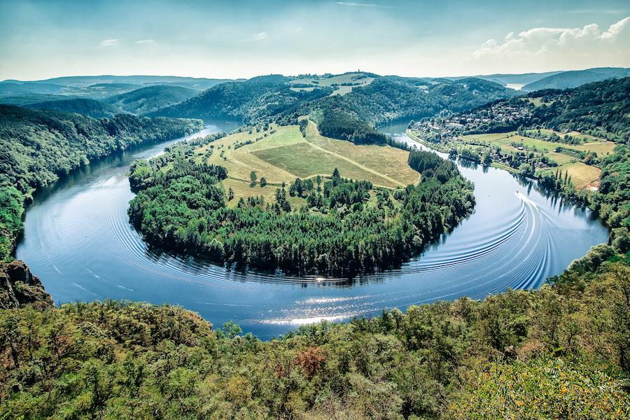 Slenická Podkova Horseshoe Bend